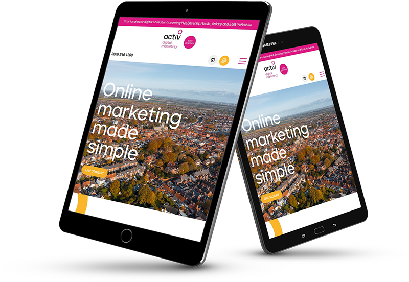 Activ Digital Marketing mobile Devices